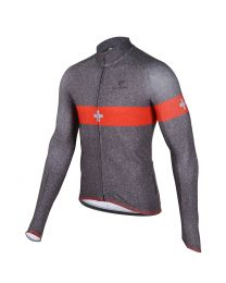 Men's 30th S-Cross Silver L/Sleeve Thermal Jersey